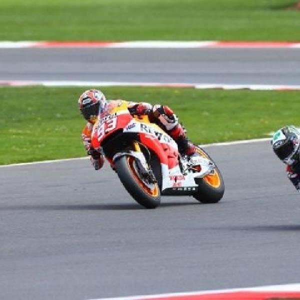 Marquez sukses bungkam perlawanan sengit Lorenzo
