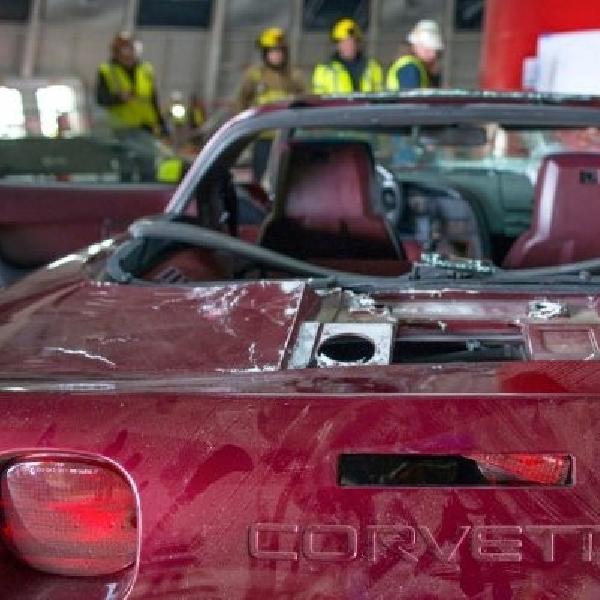 Chevrolet restorasi tiga Corvette yang rusak akibat Sinkhole