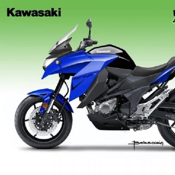 Kawasaki update tampilan Versys 2015