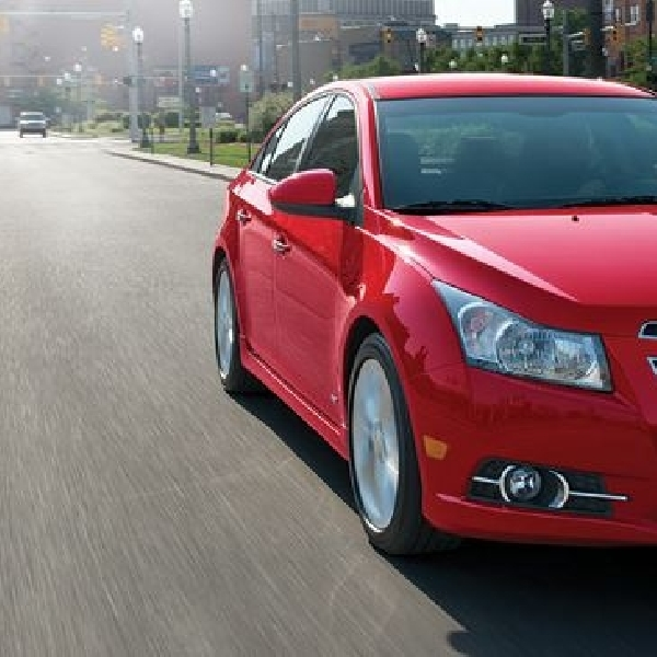 Penjualan Chevrolet Cruze tembus 3 juta unit