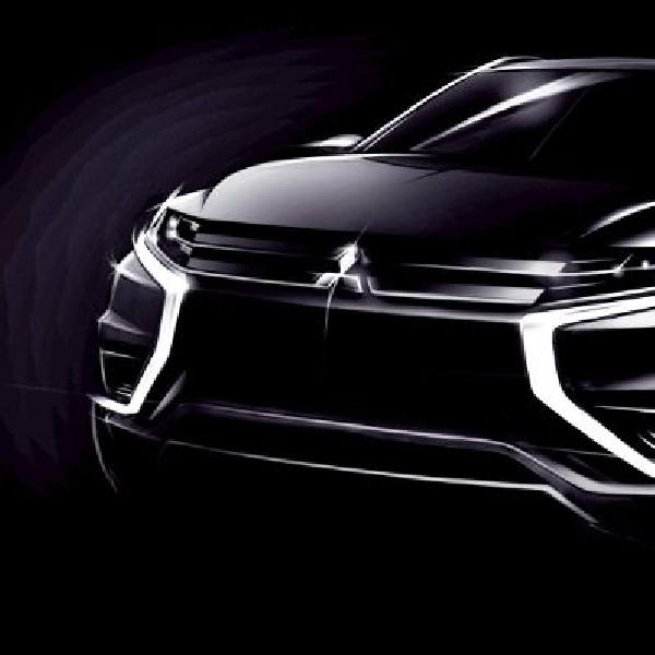 Wajah Mitsubishi Outlander PHEV Concept-S dibuka jelang debut di Paris