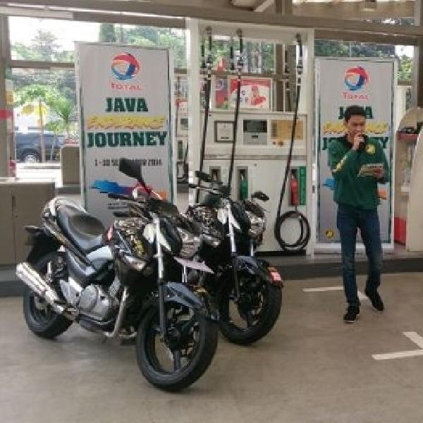 Suzuki Inazuma jawab tantangan 2.500 km