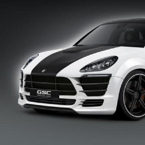 Porsche Macan dapat sentuhan wide body