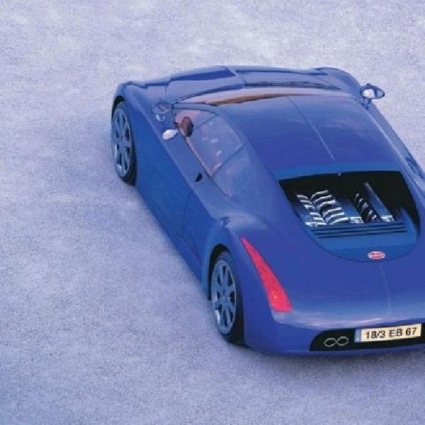 Penerus Bugatti Veyron pakai nama Chiron