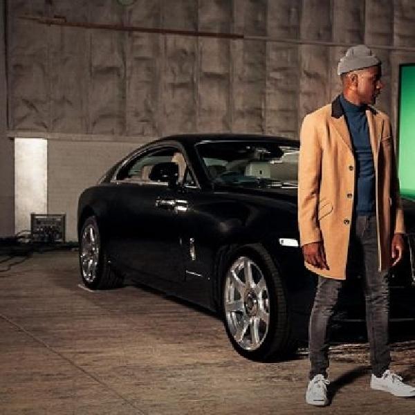 Penyanyi Labrinth pilih Rolls-Royce Wraith untuk video klip terbaru
