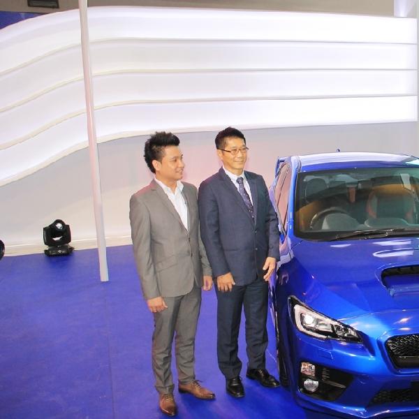 Subaru luncurkan tiga varian terbarunya diajang IIMS 2014