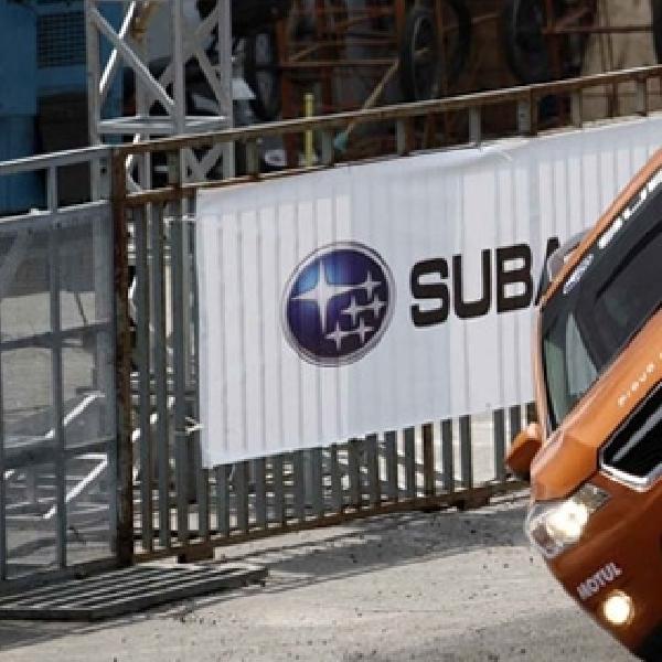Aksi Russ Swift dengan Subaru WRX STI dan XV pindah arena