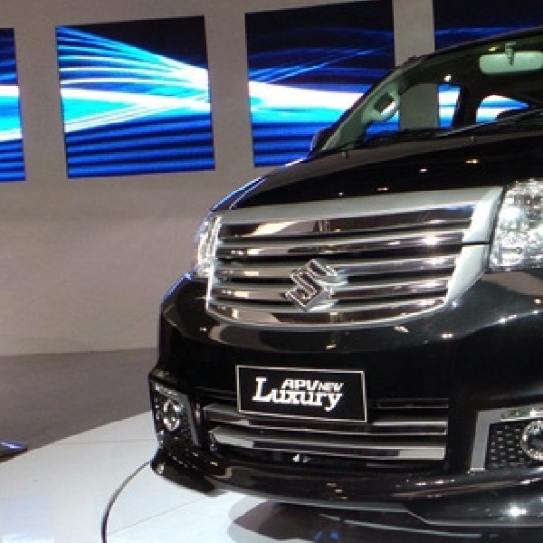 Suzuki APV New Luxury, Mewah Tanpa Air Bag dan Fitur ABS