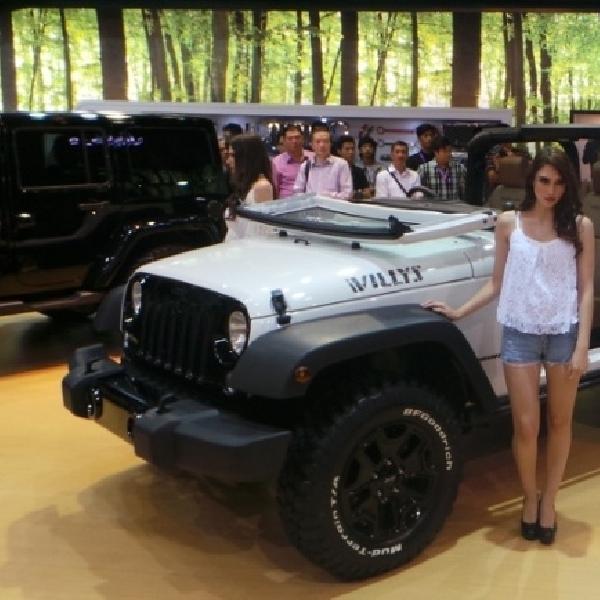 Kembalinya sang legendaris Jeep Wrangler Willy's edisi khusus