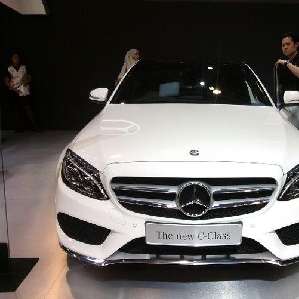 Generasi terbaru Mercedes C-Class pikat banyak konsumen