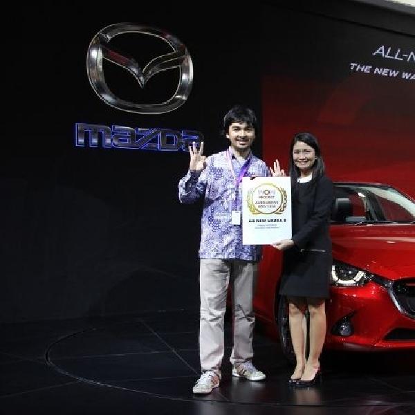Mazda raih dua penghargaan bergengsi dari panggung IIMS 2014