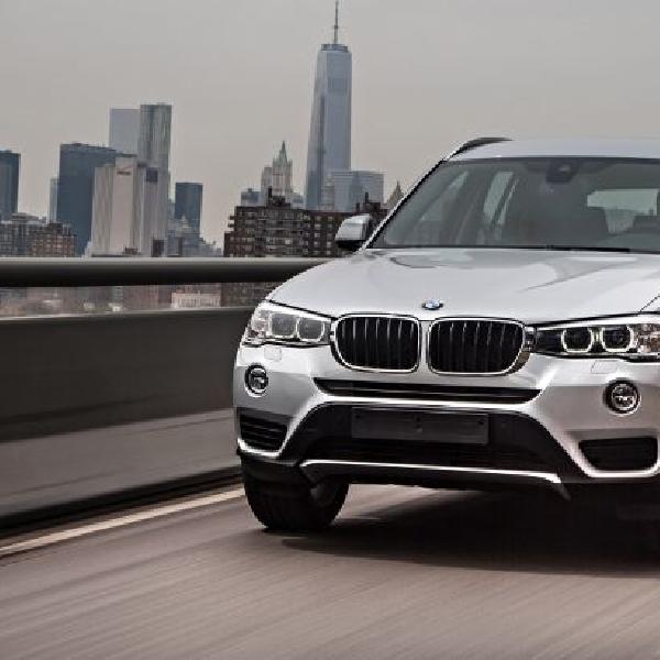 BMW sodorokan line-up varian X terbaru