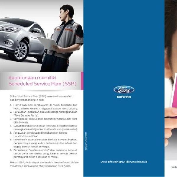 Demi kenyaman konsumen, Ford luncurkan Scheduled Service Plan