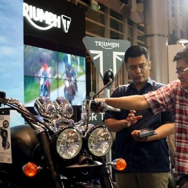 Tampil Perdana di IIMS, Triumph Motorcycle Indonesia sukses pikat konsumen
