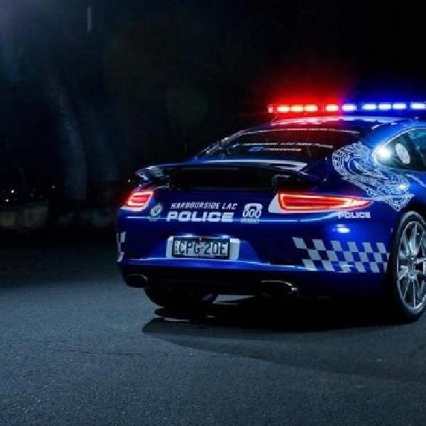 Porsche 911 Carrera jadi armada Polisi New South Wales