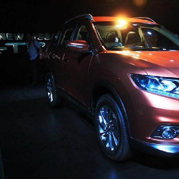 All New Nissan X-Trail menyokong penjualan bagus Nissan Motor Indonesia diajang IIMS 2014