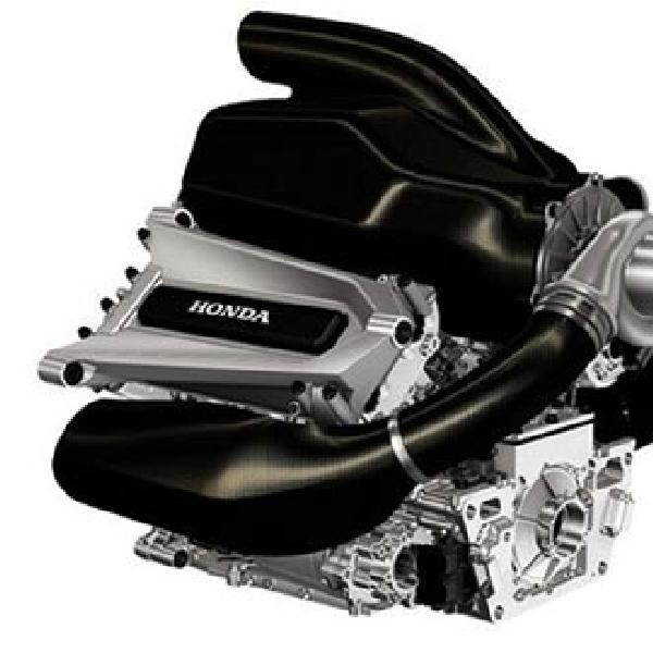 Honda rilis gambar mesin terbaru untuk F1