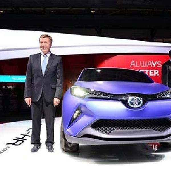 Toyota kenalkan C-HR diajang Paris Motor Show 2014