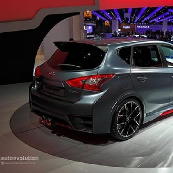 Pulsar Nismo, mobil konsep yang menjadi daya tarik booth Nissan di Paris Motor Show