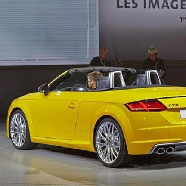 Audi boyong TT dan TT S Roadster terbarunya diajang Paris Motor Show