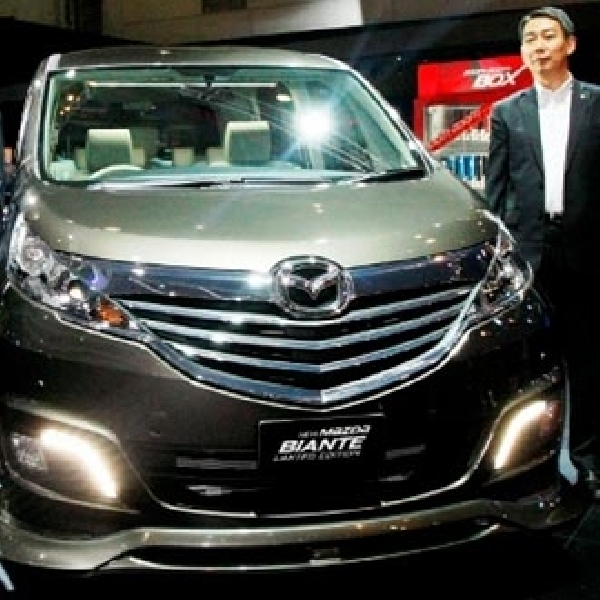 Mazda Raih Penjualan Cermelang di IIMS