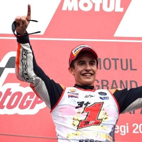 Lorenzo Juara, Marquez Berpesta