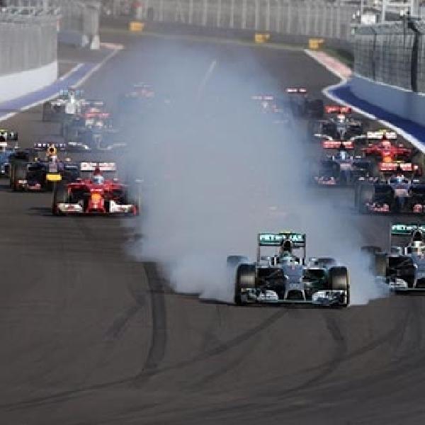 Hamilton Juara F1 GP Rusia, Mercedes Pastikan Gelar Juara Konstruktor