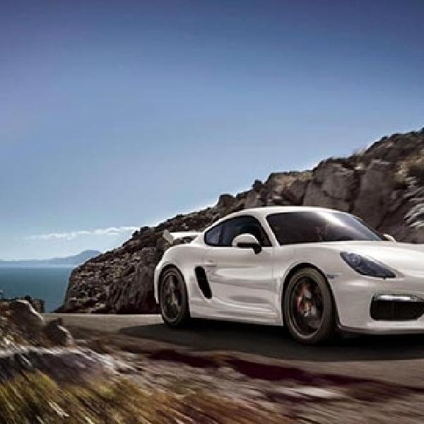 Porsche Tengah Mengembangkan Mobil Balap Cayman GT4