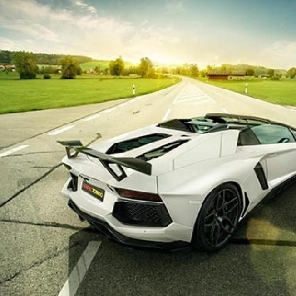 Lamborghini Aventador Roadster Tampil Gaya Dimodifikasi Novitec