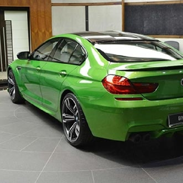 Java Green Look BMW M6 Gran Coupe