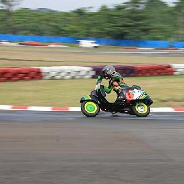 Scooter Prix Seri 3 Lahirkan Hendra AXO Sebagai Jawara