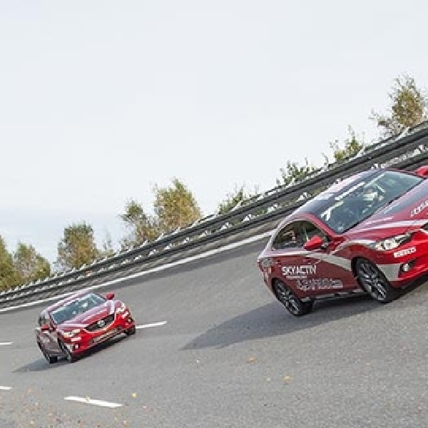 Mazda6 Diesel Pecahkan Record Speed Terbarunya
