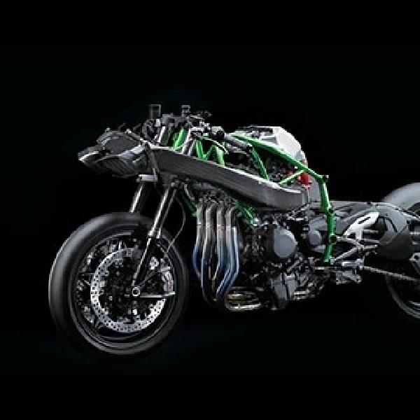 Kawasaki H2 Berubah Jadi Cafe Racer