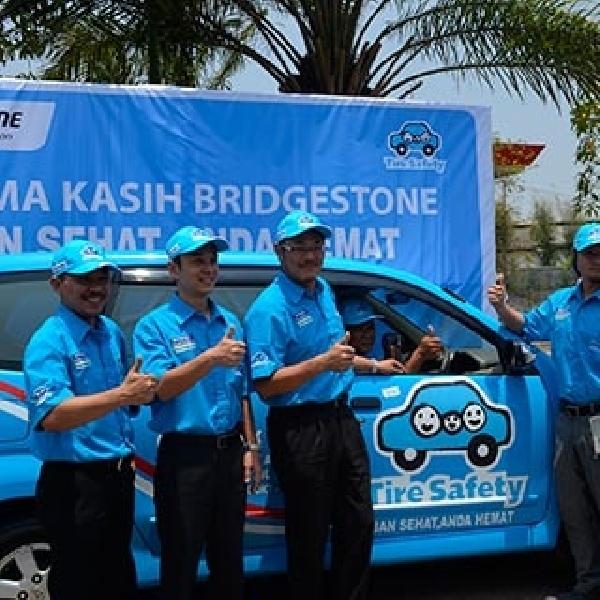 Bridgestone Gelar Kampanye Keselamatan Ban