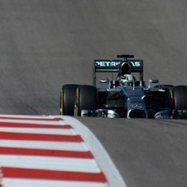 Hamilton Raih Kemenangan Lima Kali Beruntun di F1 Amerika