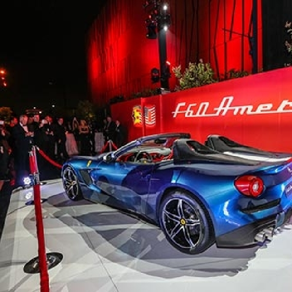 Ferrari Rayakan 60 Tahun Kiprahnya di Beverly Hills