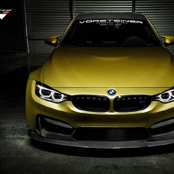BMW M4 Coupe Besutan Vorsteiner Siap Menantang SEMA 2014
