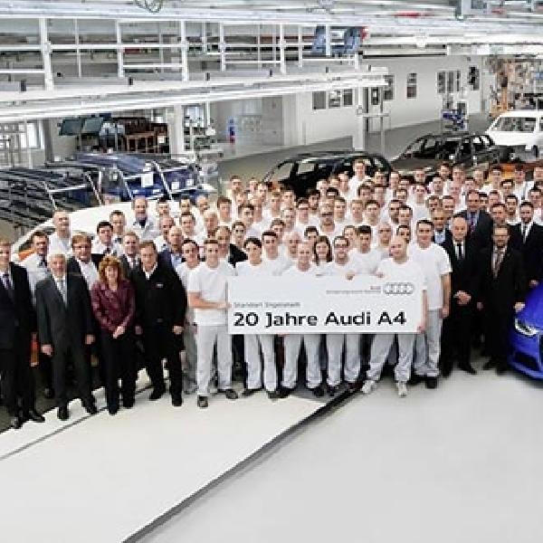 Audi A4 Rayakan 20 Tahun Eksistensinya di Jagat Otomotif