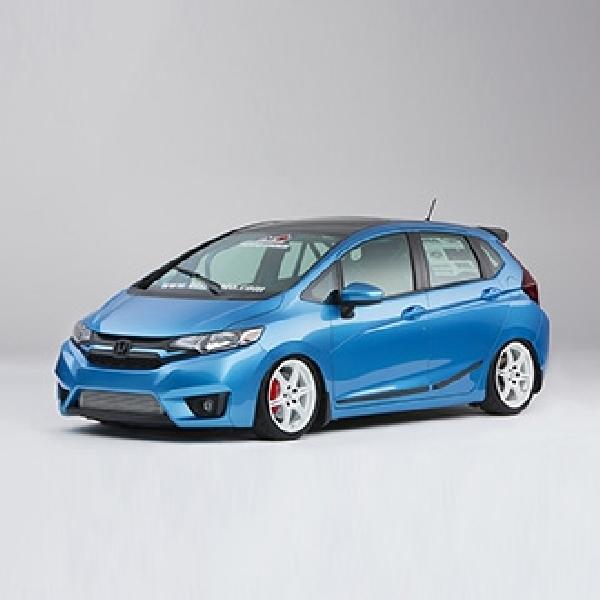 Delapan Unit Honda Fit Ikut Unjuk Gigi di SEMA 2014