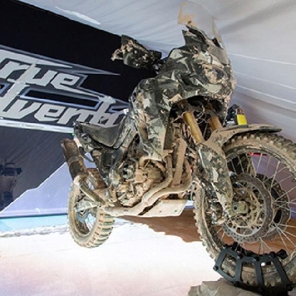 Honda True Adventure Prototype Motor Konsep Berlapis Lumpur