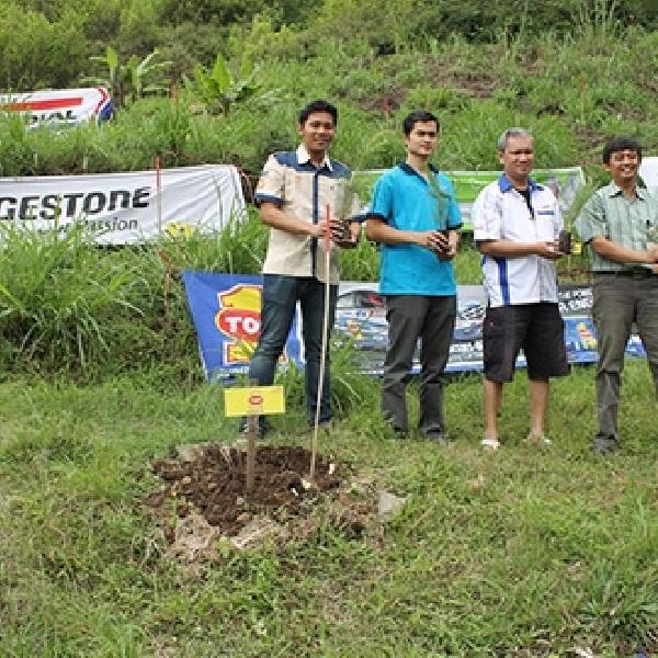 TOP 1 dan ERCI Gelar Aksi Tanam 1000 Pohon di Tegal