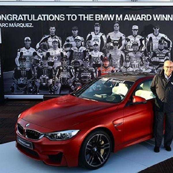 Marquez Berhak Atas BMW M4 Coupe