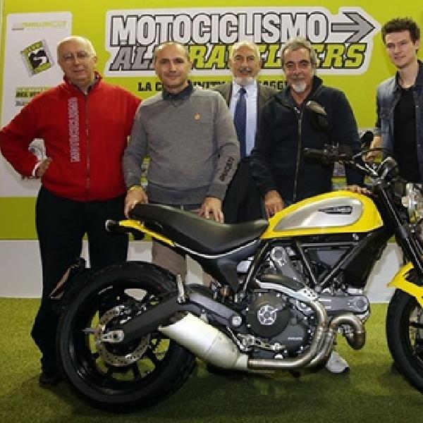 Ducati Scrambler Terpilih Sebagai The Most Beautiful Bike