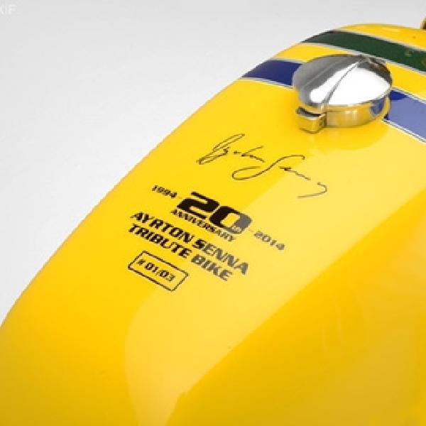 Moto Guzzi Le Mans Tribute to Ayrton Senna