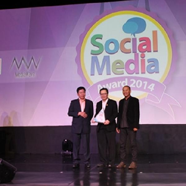 TOP 1 Raih Social Media Award 2014
