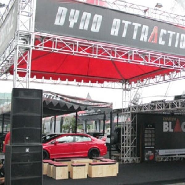 Dyno Attraction Roadshow 2014 Pompa Adrenalin Auto Modifikator Bandung