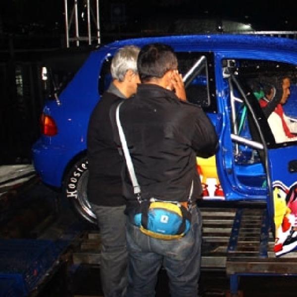 Indra Tampil memukau di kelas NA Dyno Attraction Roadshow Bandung