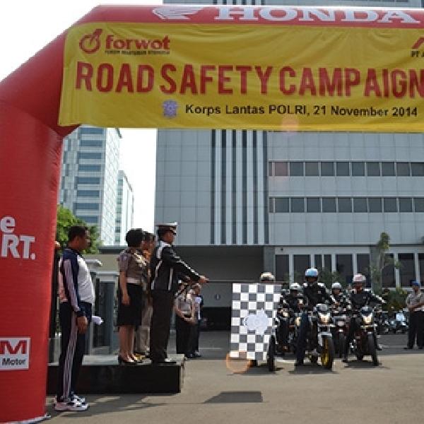 Forwot Kembali Gelar Aksi Safety Riding
