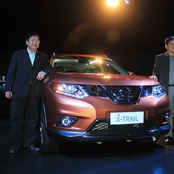 All New Nissan X-Trail Diganjar Penghargaan Car of The Year 2014