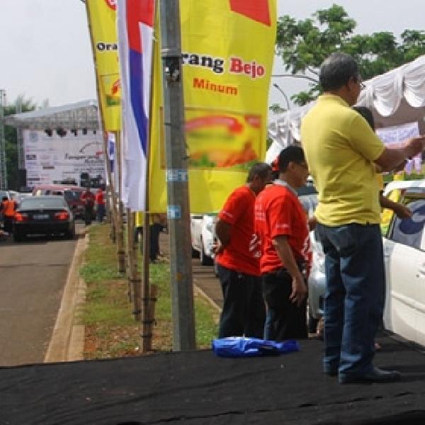 Rally Wisata Pembuka Tangerang Selatan Autofest 2014